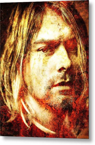Kurt Metal Print