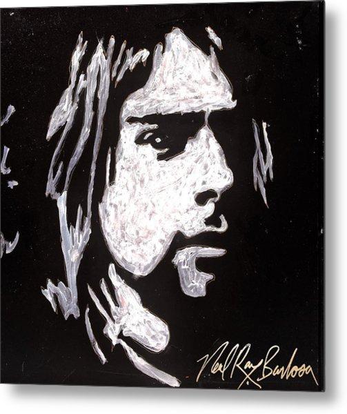 Kurt Kobain Metal Print
