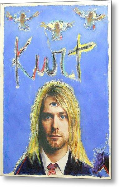 Kurt Metal Print by Mike  Mitch