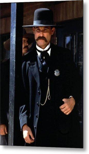Kurt Russell As Wyatt Earp Tombstone Arizona 1993-2015 Metal Print