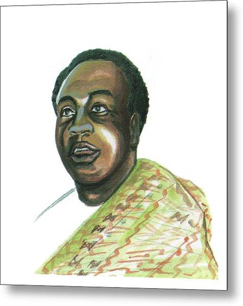 Kwame Nkrumah Metal Print