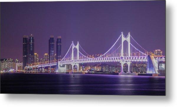 Kwangan Bridge Metal Print
