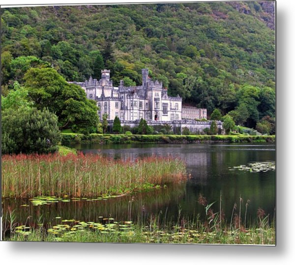 Kylemore Abbey, County Galway, Metal Print