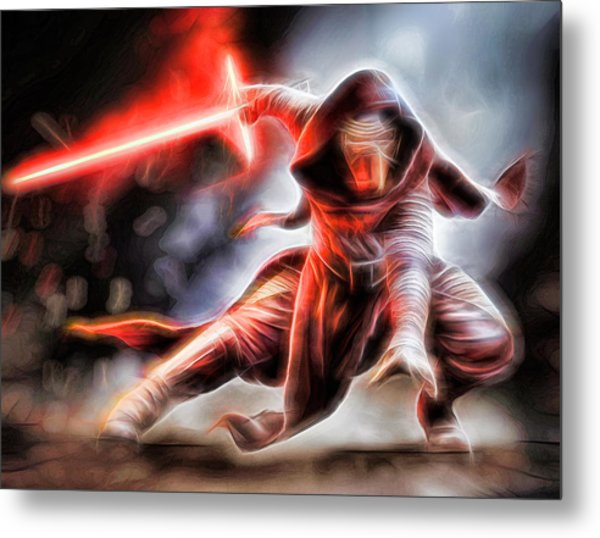 Kylo Ren I Will Fulfill Our Destiny Metal Print