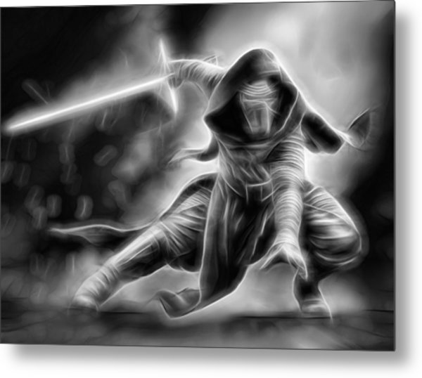 Kylo Ren Nothing Will Stand In Our Way Metal Print