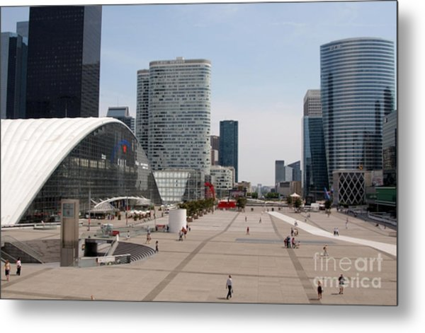 La Defense Metal Print by Andy Smy