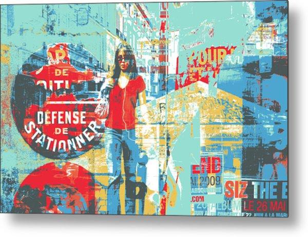 La Defense Metal Print by Shay Culligan