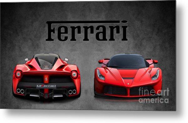 La Ferrari. Metal Print