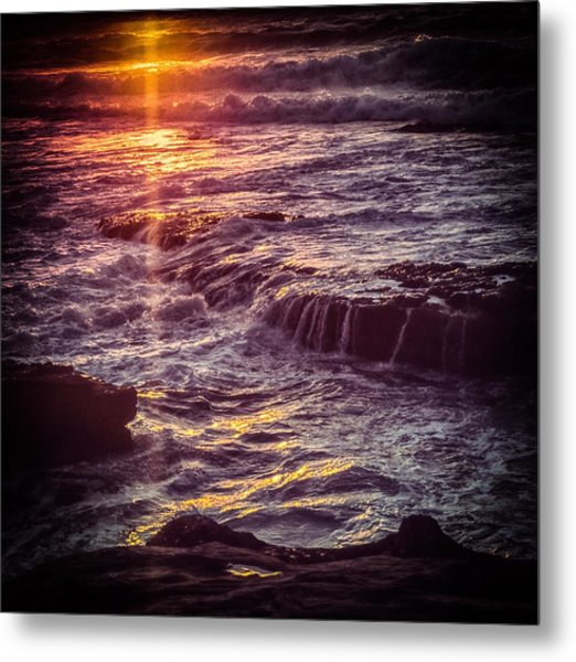 La Jolla Sunset Metal Print