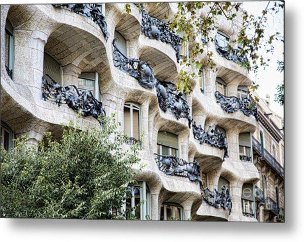 La Pedrera Casa Mila Gaudi  Metal Print