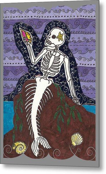 La Sirena Metal Print by Laurie Silva