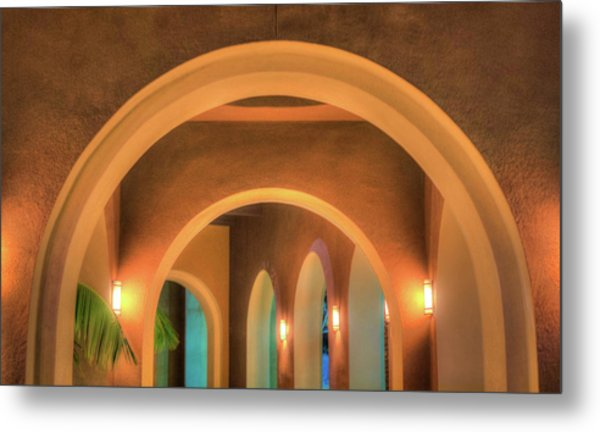 Metal Print featuring the photograph Labyrinthian Arches by T Brian Jones