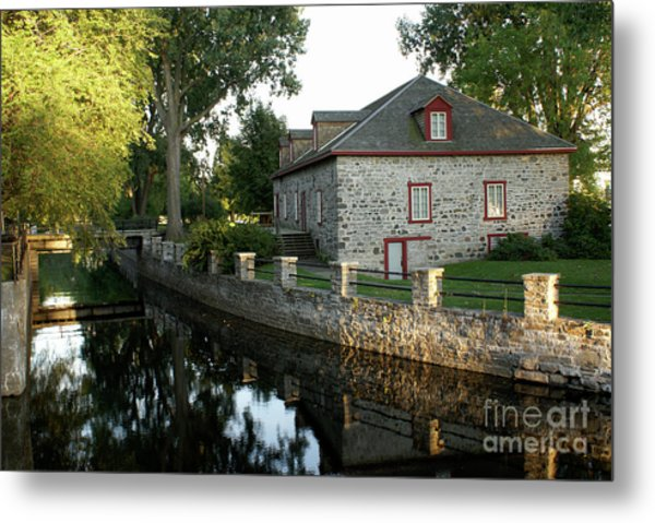 Lachine Canal Montreal Quebec Metal Print
