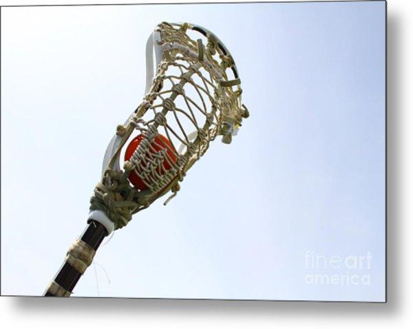 Lacrosse 2 Metal Print