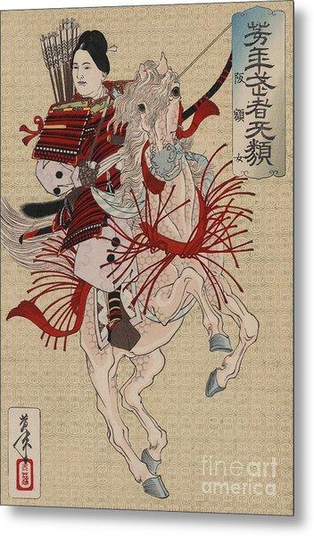 Lady Hangaku Metal Print