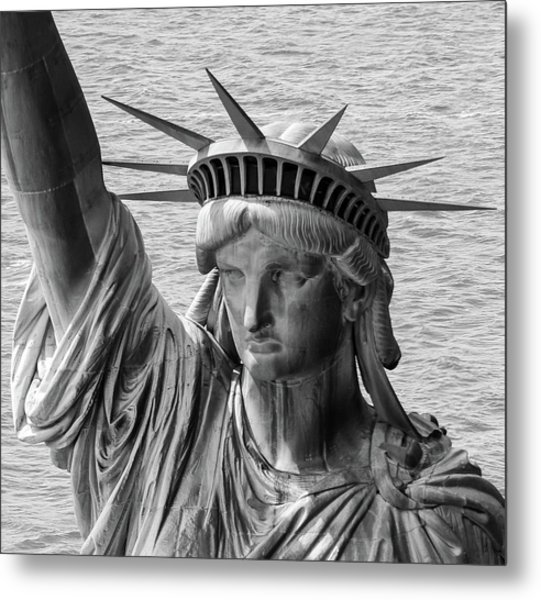 Lady Liberty 1 Metal Print