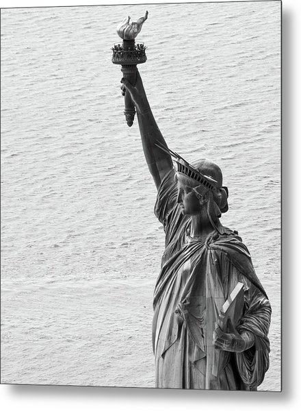 Metal Print featuring the photograph Lady Liberty by Rand