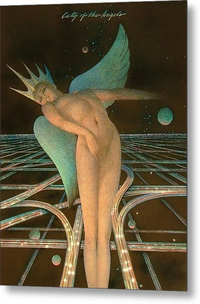 Lady Of The Angels Metal Print by Gary Kaemmer