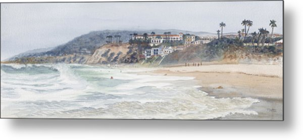 Salt Creek Beach Metal Print by Tom Dorsz