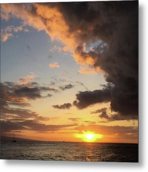 Lahaina Sunset! Love Friday Nights! Metal Print