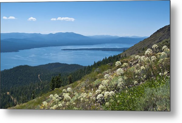 Lake Almanor Metal Print