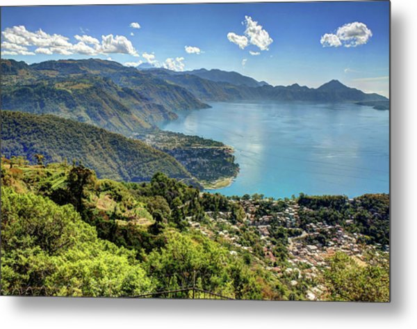 Lake Atitlan Metal Print
