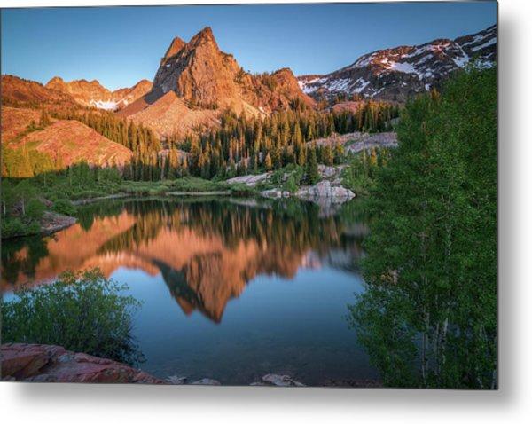 Lake Blanche At Sunset Metal Print