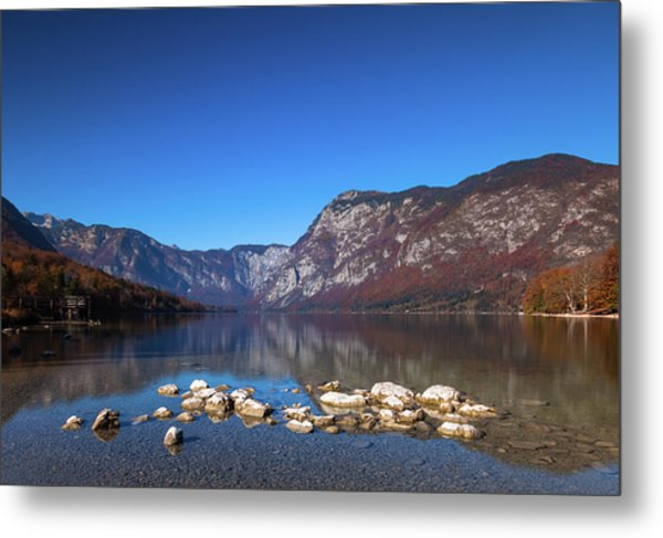 Lake Bohinj Metal Print
