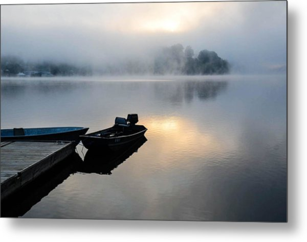Lake Calm Metal Print