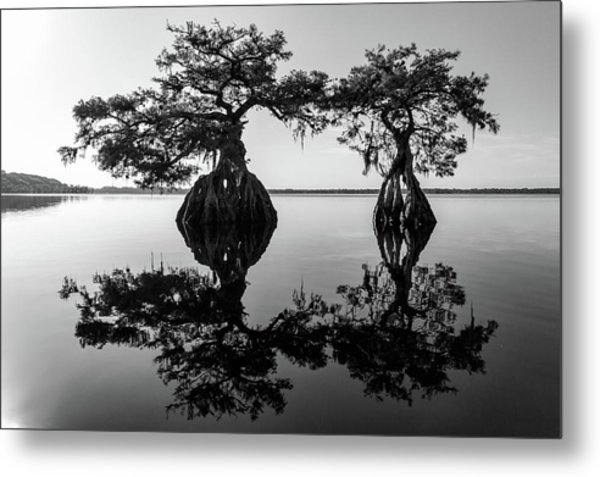 Lake Disston Old Couple Metal Print