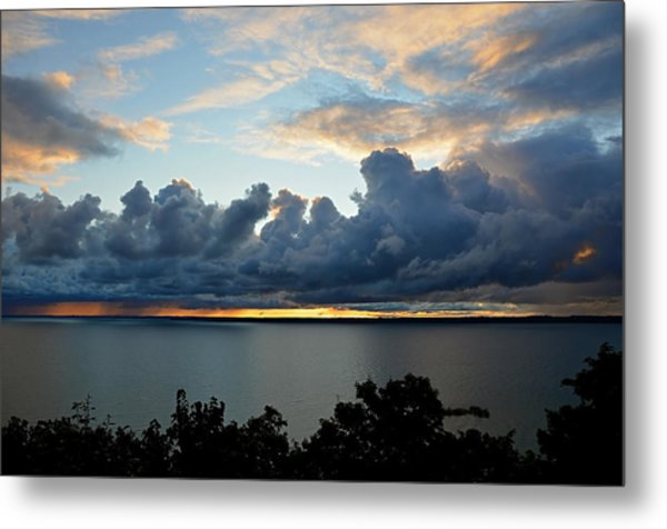 Lake Effect Sky Metal Print