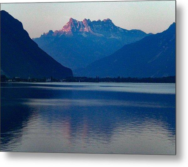 Lake Geneva, Switzerland Metal Print