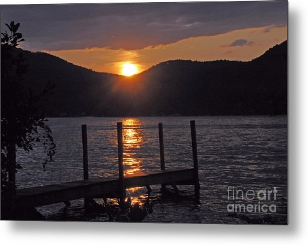 Lake George New York Sunset Metal Print