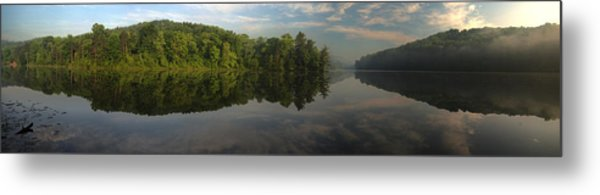 Lake Hope Sunrise Panorama Metal Print