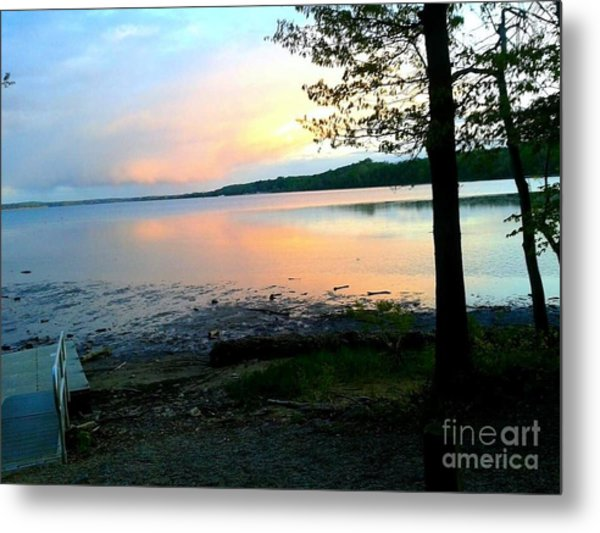 Lake In Virginia Metal Print