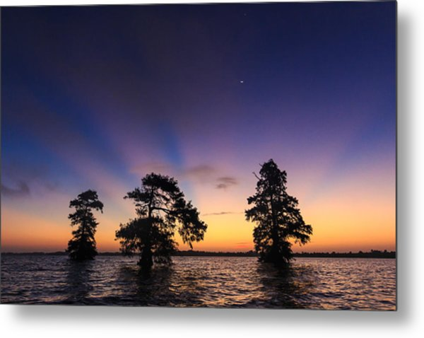 Lake Istokpoga Sunrise Metal Print
