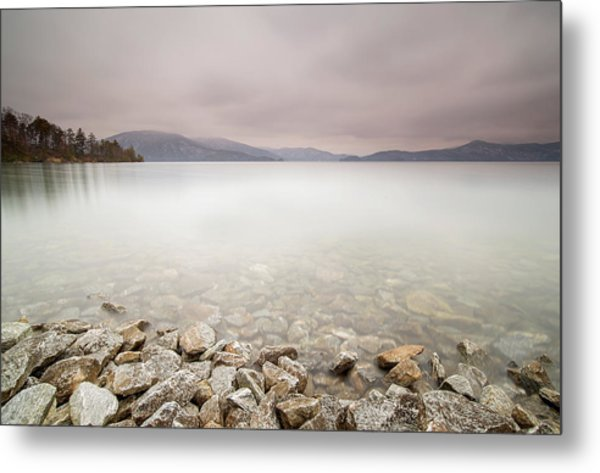 Lake Jocassee 12 Metal Print by Derek Thornton