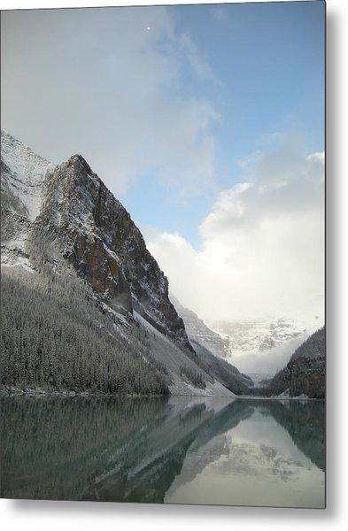 Lake Louise After First Snowfall  Metal Print
