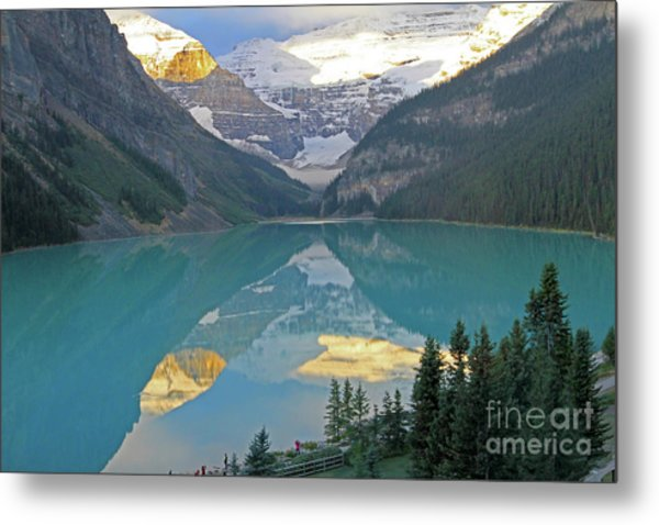 Lake Louise Sunrise Metal Print