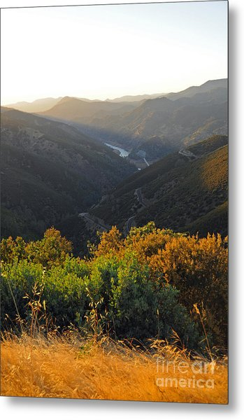 Lake Mcclure Ca Metal Print