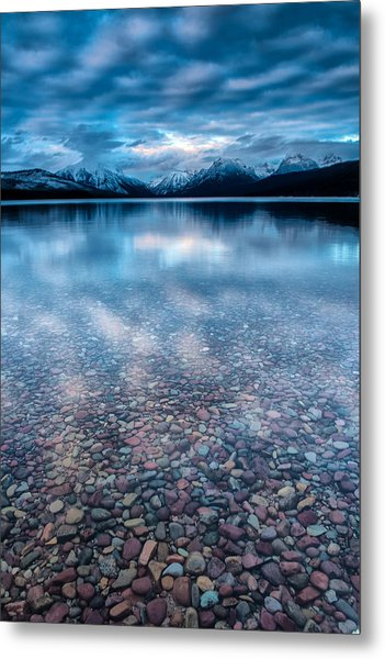 Lake Mcdonald Calm, Glacier National Park Metal Print