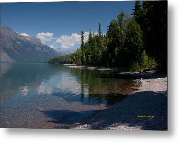 Lake Mcdonald Montana Metal Print