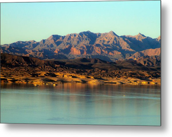 Lake Mead Before Sunset Metal Print