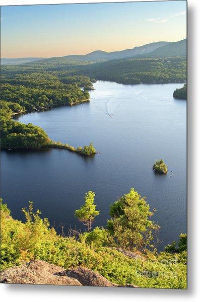 Lake Megunticook, Camden, Maine  -43960-43962 Metal Print