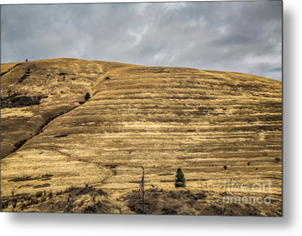 Lake Missoula Metal Print