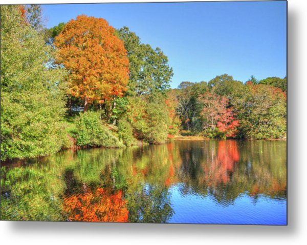 Lake Noquochoke, Dartmouth, Ma Metal Print