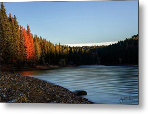 Lake Sunrise  Metal Print