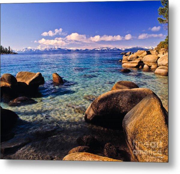 Lake Tahoe Cove Metal Print