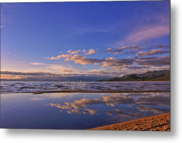 Lake Tahoe Evening Metal Print