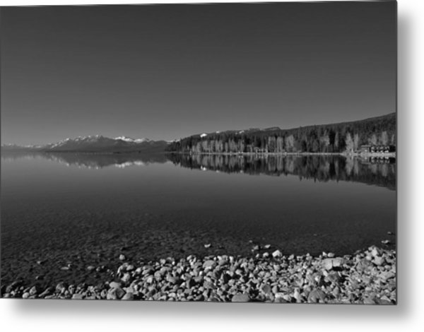 Lake Tahoe Reflections Metal Print